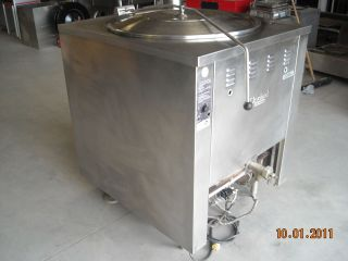 Steam Jacketed Natural Gas Stainless Steel Kettle Model KGM 60