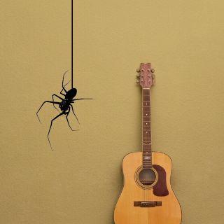 BLACK WIDOW SPIDER Vinyl wall sticker giant stencil vinyl mural decal