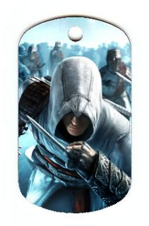 Assassins Creed #2 Dog Tag Necklace [ and Free Chain]