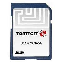 TOMTOM NORTH AMERICA MAP IQ ROUTES SD CARD V8.40
