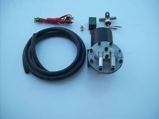 Electric vacuum pump kit power brake booster 12 volt NEW