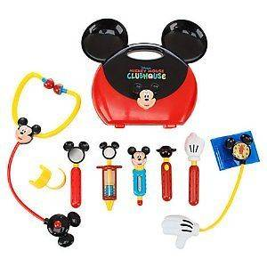 Mouse Clubhouse Mickey Mouse Doctor Play Set, New Toys And Games