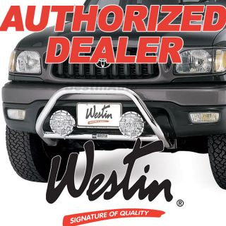 WESTIN 1998 1999 Nissan Frontier Stainless Grille Guard Push Bar 30