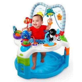 New Baby Einstein Baby Play Gym Neptune Activity Saucer Educational