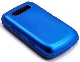 BLUE BLACKBERRY BOLD 9700 ALUMINUM METAL CASE COVER