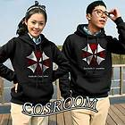 Biohazard Umbrella Corporation Resident Evil Cosplay Costume Hoodie