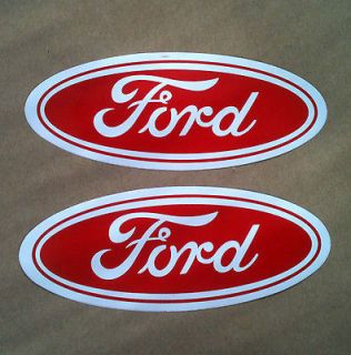 FORD LOGO RACING MOTOCROSS DECAL STICKERS F 150 250 350 450 550 POWER