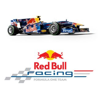 Red Bull Formula 1 F1 Logo Large Vinyl Wall Sticker Decal Emblem Crest