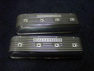 NOS Offy Offenhauser studebaker 239 259 289 Hot Rod Finned valve cover