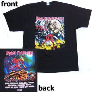 IRON MAIDEN NUMBER OF THE BEAST SBIT TOUR 2008 SHIRT XL X LARGE NEW