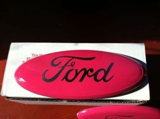 2004 13 All Ford Escape/FocusP​INK Tailgate/Grill​e Emblem,OEM,5