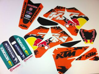 2006 2012 KTM SX 85 Graphics Kit Sweet Hard To fine STYLE Dirt Bike