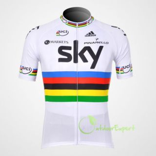 2012 Team Cycling Bicycle Bike Jersey Outdoor Sports Short Sleeves