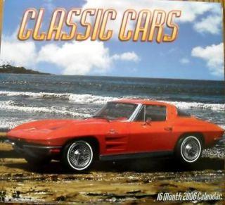 CLASSIC CARS 2006 calendar hot rods pin ups