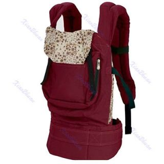 Back Baby Newborn Carrier Infant Comfort Backpack Sling Wrap Cotton