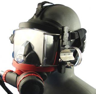 Accessory Rail System For OTS Guardian Full Face Mask