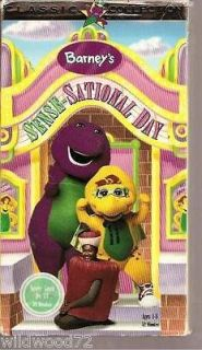 Barney   Barneys Sense Sational Day (VHS, 1997)