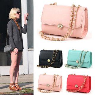 WOMENS High Quality Handbag Mini Cute Chain Messenger Cross Body Bags