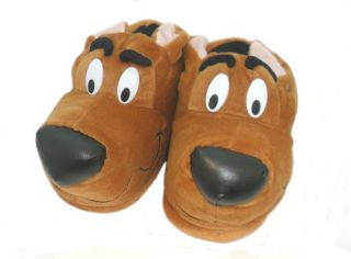 MENS NOVELTY HOUND DOG SCOOBY DOO SLIPPERS FAB305