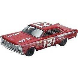 MONOGRAM 1965 Ford Galaxie 500 #121 Dan Gurney Slot Car #85 4894