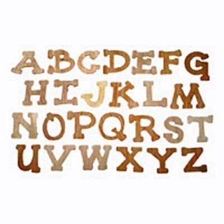 unfinished wood letters in Multi Purpose Craft Supplies