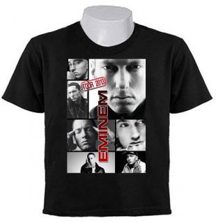 EMINEM Marshall Slim Shady TOUR 2013 Collage Hip Hop King T SHIRTS EM1