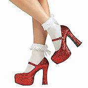 Wizard of Oz Ruby Slippers Dorothy Halloween costume Ruby Slippers