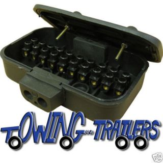 10 way electric connection / junction box trailer parts