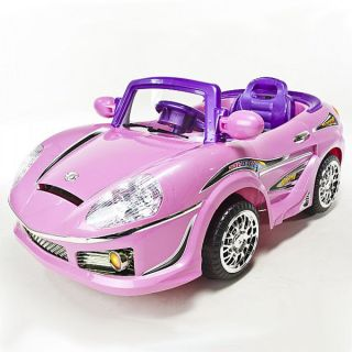 Pink Battery Operated Ride On Remote Control R/C Power Wheels  Car