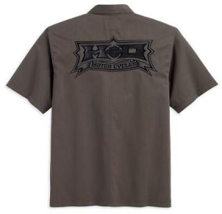 harley davidson woven shirt in Casual Shirts