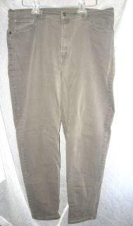 Levis 550 Gray Stretch Straight Leg Jeans Plus Size Waist 37 Medium