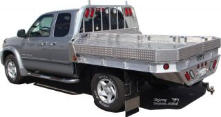 Truck Flat bed bodies for Work Trucks built to fit Ford Dodge GMC