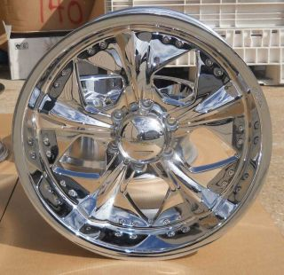 NEW 20 CUSTOM AFTERMARKET WHEELS BY VELOCHI FOR 1999 2011 GM TRUCKS