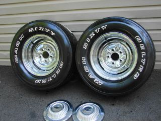 Vintage Car & Truck Parts  Wheels, Tires, & Hub Caps  Wheel + Tire