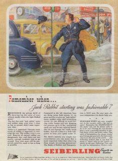 vintage SEIBERLING Traffic Automobile POLICE OFFICER Stop Sign CAR