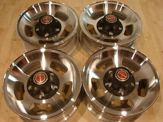 Aluminum Slot Mags Bronco F100 Ranger Truck Wheels Rims Nicr th NOS