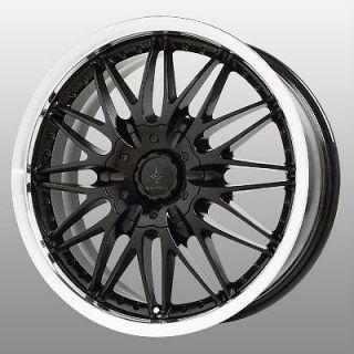 16 inch Verde Regency Black Wheels Rims 5x4.5 Highlander Rav 4 Sienna