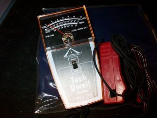 ACCURATE INSTRUMENTS INDUCTIVE TACH DWELL TESTER SEE AD FOR DETAILS(u