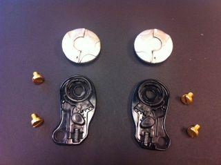 Suomy Vandal Pivot Kit Complete Replacement Helmet Parts Ratchet
