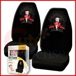 Betty Boop 2 Car Seat Covers Auto Acceosories Sk​yline