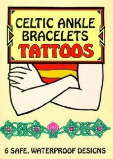 Celtic Ankle Bracelets Tattoos by Marty Noble 2000, Paperback