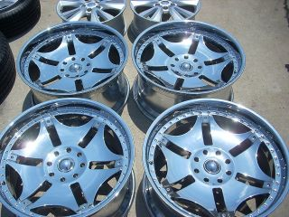 25 GIOVANNA BRAGG CHROME WHEELS RIMS HUMMER H2 CHEVY GMC 2500 3500