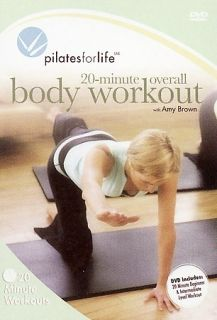 Pilates For Life   20 Minute Overall Body Workout DVD, 2006