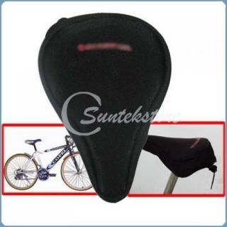 Exercise Bike Seat Cover Bicycle Gel Saddle Cover Large