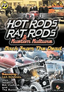 Hot Rods, RAT Rods Kustom Kulture Back From The Dead DVD, 2006