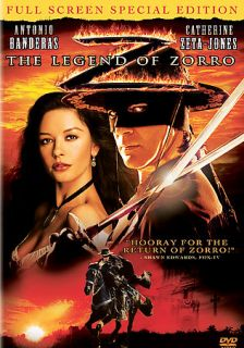 The Legend of Zorro DVD, 2006, Full Screen