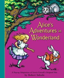 Adventures in Wonderland by Lewis Carroll 2003, Novelty Book