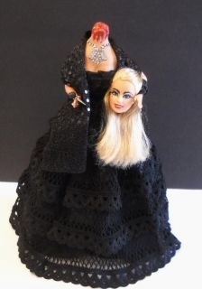 Lady Gaga    Headless  OOAK Celebrity Barbie Doll  Enjoy Pics   UK