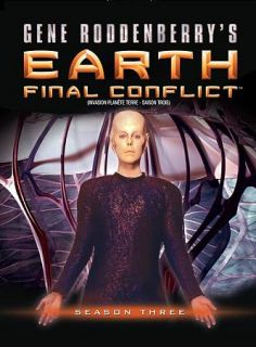 Earth Final Conflict   Season 3 DVD, 2010, Canadian