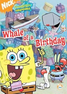 Spongebob Squarepants   Whale of a Birthday DVD, 2006